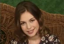 Usmievavý anjelik Katie June na jednom z prvých castingov