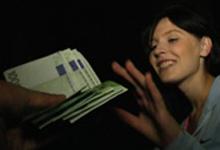 Česká amatérka Timea vytrtkaná v aute za peniaze