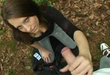 Pornokalendár (Eleonóra 21 2) – Nezáväzný sex v mestskom lesoparku (HD porno)