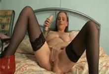 Masturbácia kozatej babičky