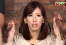 Dvojitý orál moderátorky (HD porno)