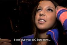 Český Public Agent a maďarská teenagerka Anita (HD porno)
