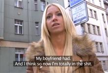 Český Public Agent a stratená maďarská turistka Kiara (HD porno)