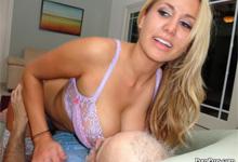 Pornostar Alanah Rae podrží starému dedovi (HD porno)