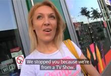 Český Public Agent a ruská blondínka Gina (HD porno)