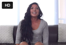 Bývalá boxérka postriekaná na porno castingu!