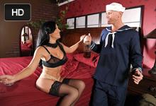 Námorník Johnny Sins a prostitútka Rebeca Linares