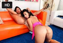 Latiny Yoha Galvez a Susy Gala Lízanie, trtkanie robertkom a opakovaný squirt