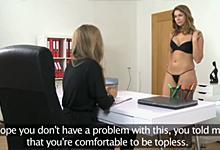 FemaleAgent a 22ročná ruská kráska Ani – české castingové porno