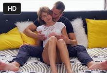 Češka Paola Mike s priateľom Dennym Nežný posteľový styk a naplnená kundička!