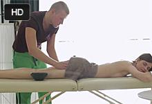 Análna vášeň na masáži!