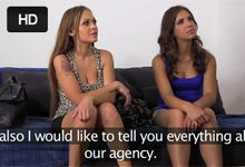 FakeAgent natočí skupinové porno s dvoma náhodnými kráskami z reštaurácie