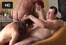 Privátna swingers párty s náruživými milfkami! – české porno