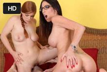 Chalan zažije skupinový sex s priateľkou a nevlastnou sestrou (Penny Pax a Dava Foxx)