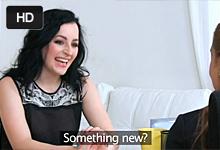 FemaleAgent Castingová agentka Alexis Crystal sa poláska s krásnou čiernovláskou Nikitou – české porno