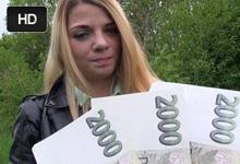 Public Agent prefikne hanblivú študentku Bellu za 20 tisíc! – české porno