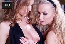 Česká lesbička Eufrat s blonďavou milenkou Michelle