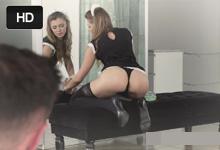 Mladý boháč si užije sexuálne radovánky so zvodnou slúžkou! (Mary Kalisy)