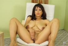 Ebon lesbické porno