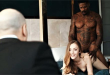 Veľký čierny chlap porno